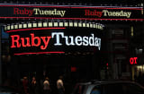 Ruby Tuesdays in Times Square, New York. A