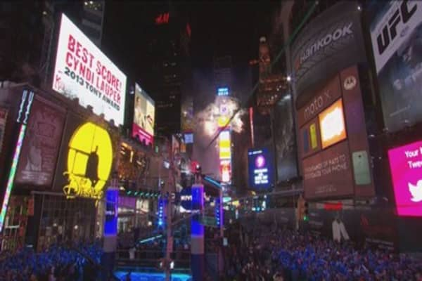 New Year's Eve in Times Square can as much as $1,800 per person