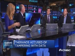 Theranos accused of tampering with data: WSJ