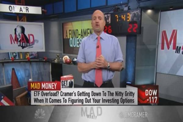 Cramer: Why I'm railing against most mutual funds
