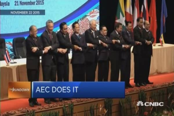 What's the potential of the AEC?