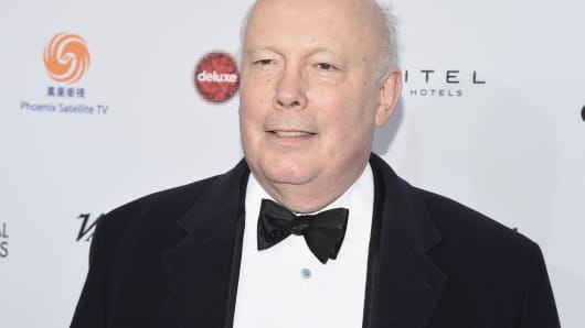 Julian Fellowes, writer and creator of 'Downton Abbey'
