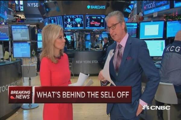 Reasons behind the market selloff
