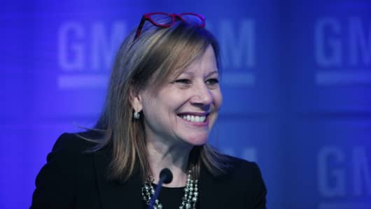 GM shareholders reject proposal to split stock in two