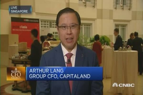 CapitaLand: We're realistic players in a long game
