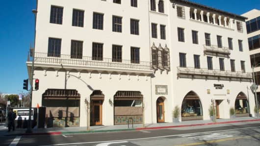 Historic building that Palantir is moving into this year