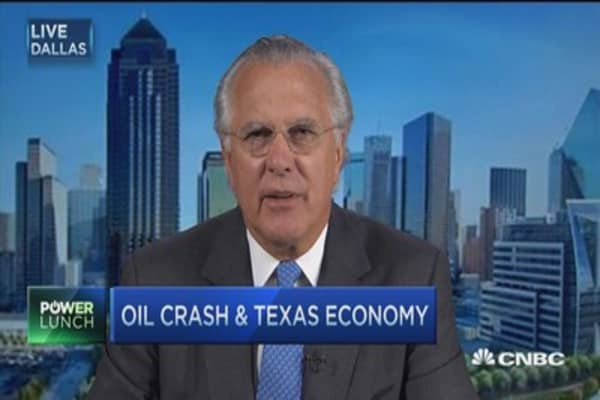 Texas is not just oil, its diverse job growth for the US: Ex-Fed's Fisher