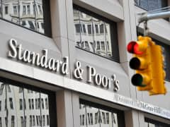 Standard & Poor's headquarters in the financial district of New York