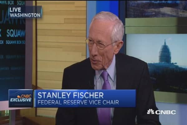 Fed's Fischer: Uncertainty has risen in markets