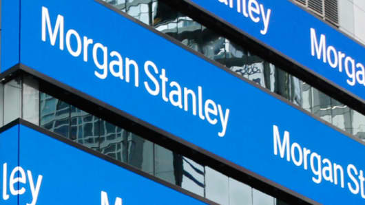 Morgan Stanley headquarters in Times Square, New York.