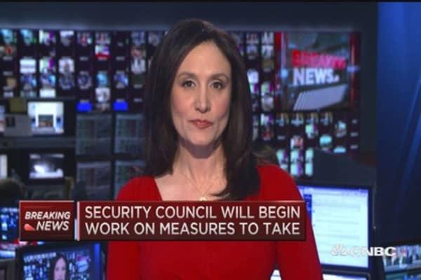 UN Security Council condemns North Korea bomb test