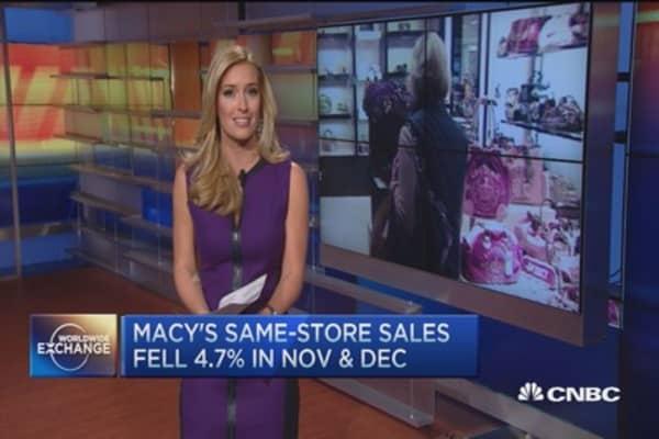 Macy's cuts jobs, closes stores