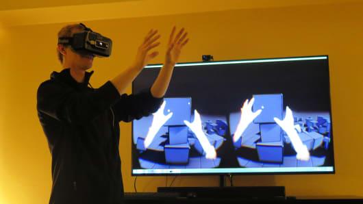 Oculus Leap CES