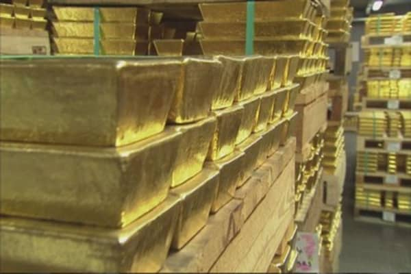 Gold could shine again as a safe haven
