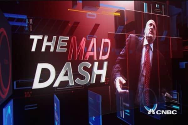 Cramer's Mad Dash: Dividends