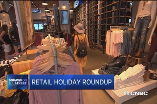 Holiday check-up: Gap, American Eagle & more
