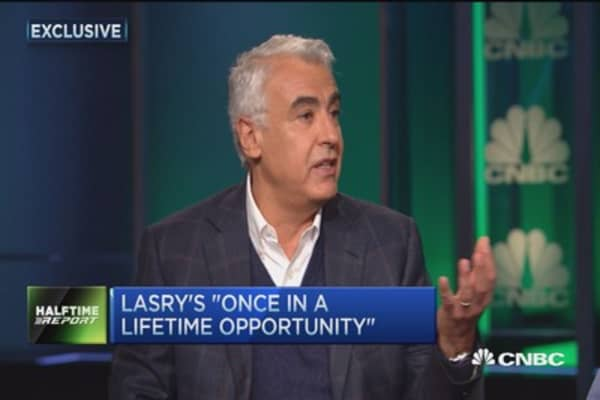 Energy crush bets with Marc Lasry