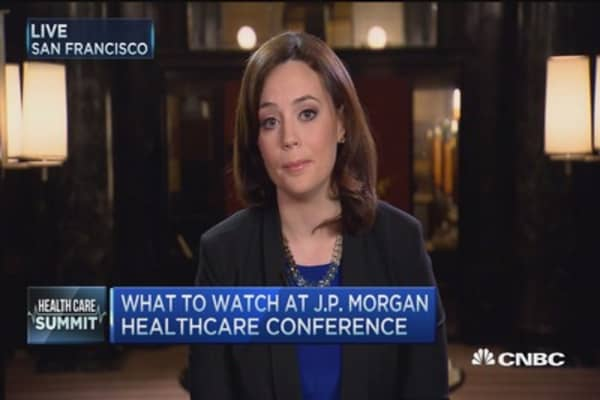 What to watch at J.P. Morgan Health Care Conference