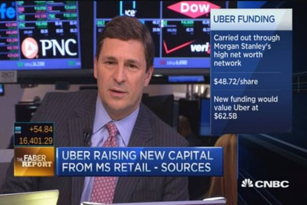 Faber Report: Sources say Uber raising new capital