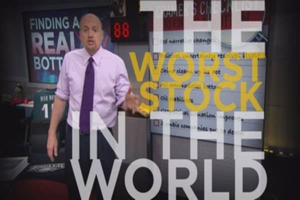 Cramer Remix: The worst stock in the world