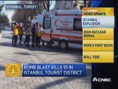 CNBC update: ISIS blamed for bombing in Istanbul