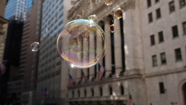 financial bubble NYSE