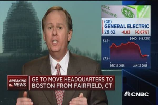 GE's move good for MA?