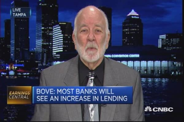 Q4 for US banks won't be 'bad at all': Bove