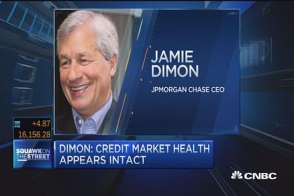 JPM's Dimon: Oil companies 'surprisingly resilient'