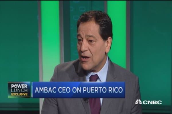 Ambac CEO on Puerto Rico lawsuit