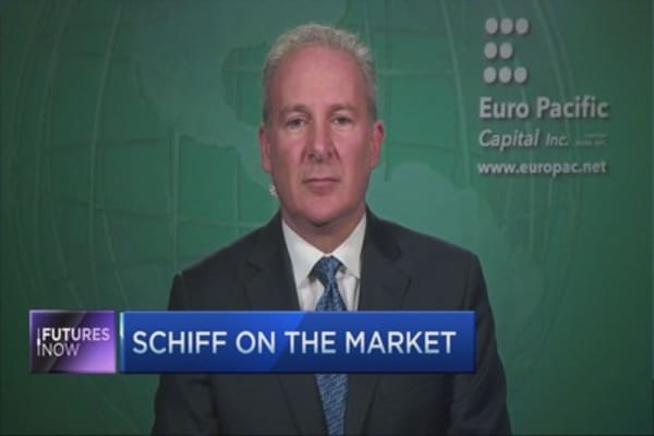 Fed will have to reverse course: Peter Schiff