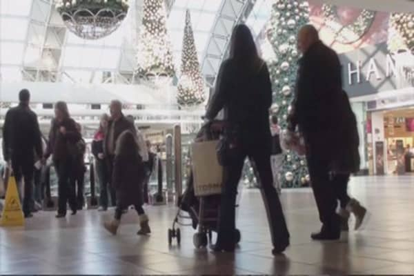 Holiday sales fall short of forecasts