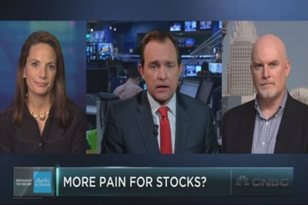 Expect more pain for stocks?