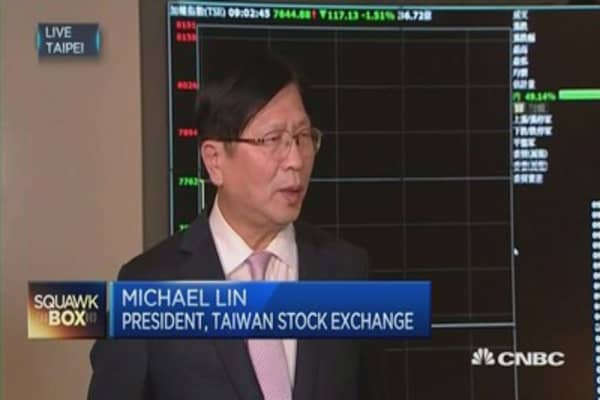 TWSE chief: We're trying to prevent over-volatility