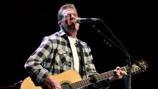 Musician Glenn Frey of the Eagles.