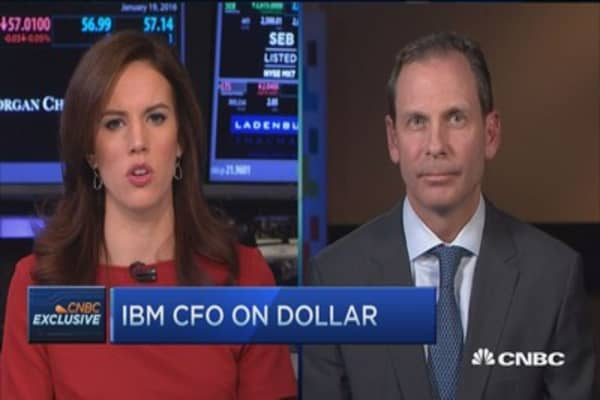 IBM CFO: Focus on high-value customers in China