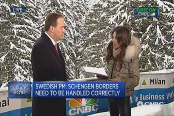 Don't tie sexual harassment to migration: Sweden PM