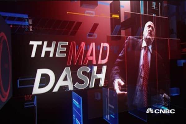 Cramer's Mad Dash: AAPL & IBM