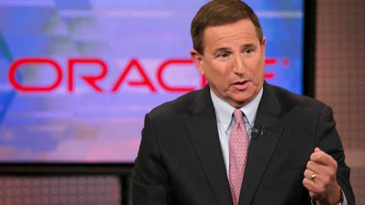 Mark Hurd, CEO of Oracle.