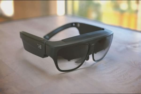 These $2,750 glasses can augment reality