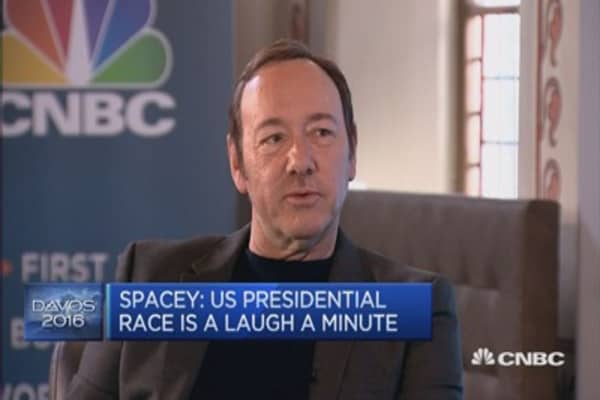 Presidential race is very 'entertaining program': Actor