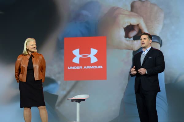 "IBM Chairman and CEO Ginni Rometty and Under Armour Founder and CEO Kevin Plank announced a new ""cognitive coaching"" system powered by Watson."