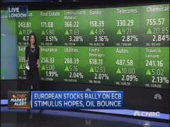 Europe stocks rally on ECB stimulus hopes