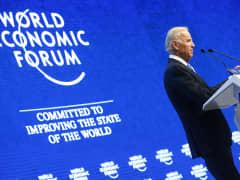 Joe Biden Davos