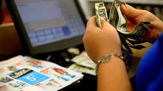 Toys R Us retail cash transaction