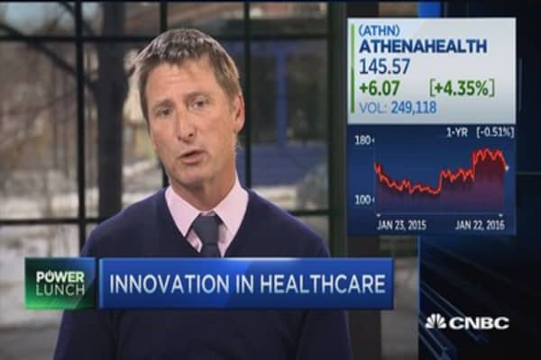 Athenahealth CEO on innovation in health care