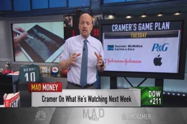 Cramer game plan: It's earnings Super Bowl kickoff