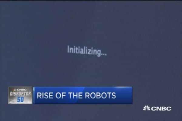 Rise of the robots catch Wall Street's eye