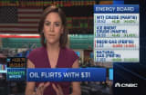 Oil rises above $30
