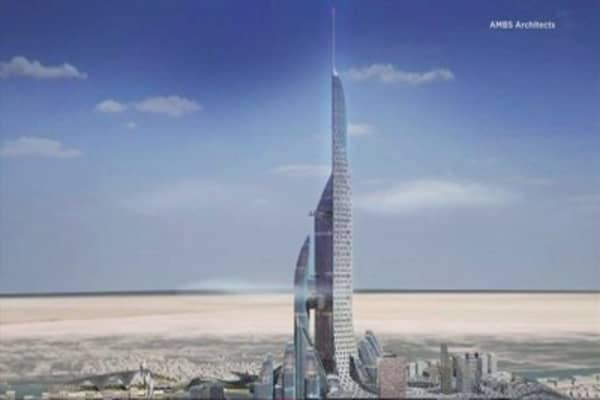 Architects plan the world's tallest building